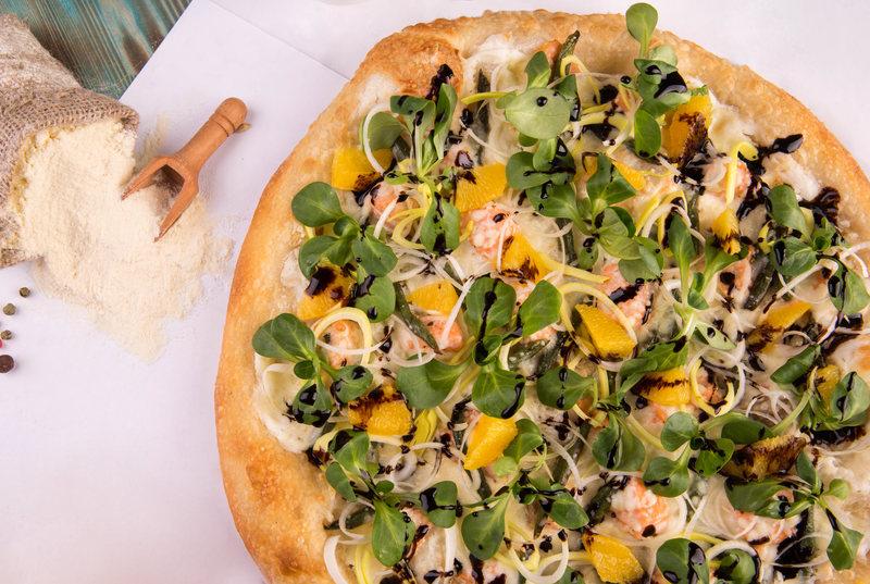 Sabores extravagantes de pizza na Noruega