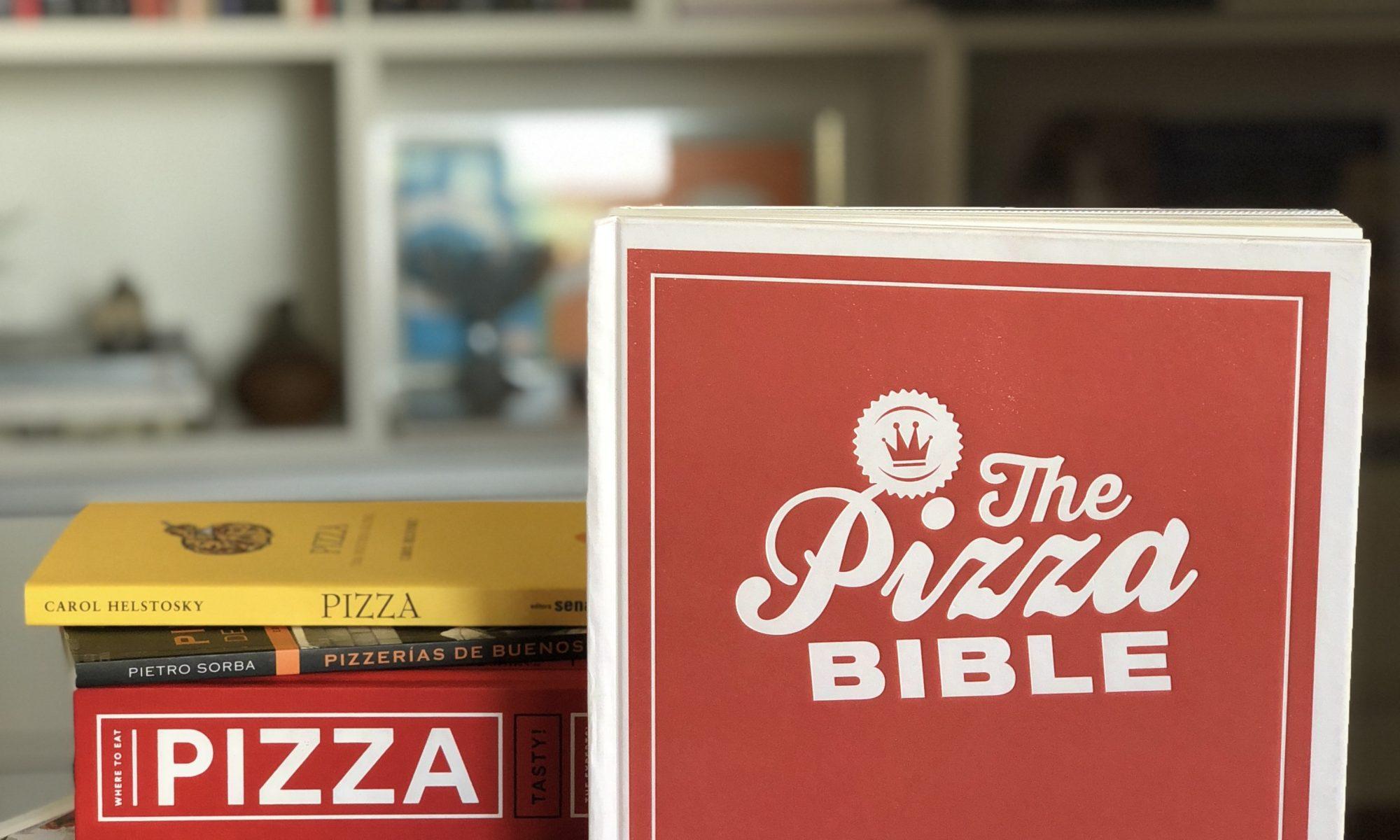 Livros sobre pizza