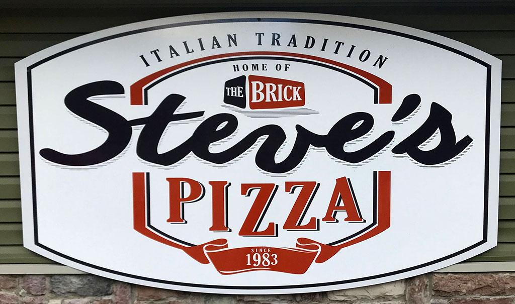 Logo da Steve's Pizzaria